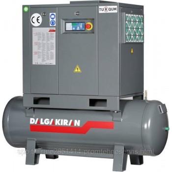 Винтовой компрессор DALGAKIRAN Tidy 10-13 500L