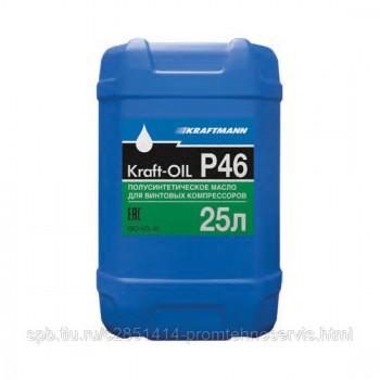 Компрессорное масло KRAFT-OIL P46 25л