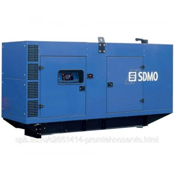 Дизельный генератор SDMO D300 в кожухе