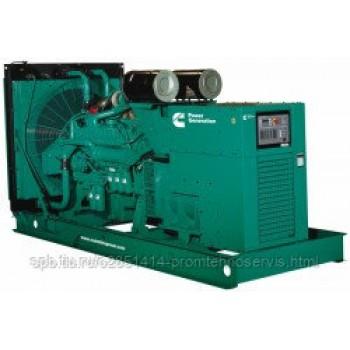 Дизельный генератор Cummins C1000D5 с АВР