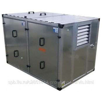 Дизельный генератор Pramac E4500 3 фазы в контейнере с АВР
