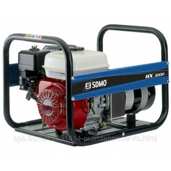 Бензиновый генератор SDMO HX 3000-C