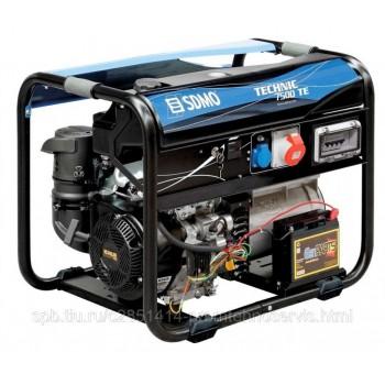 Бензиновый генератор SDMO TECHNIC 7500 TE с АВР