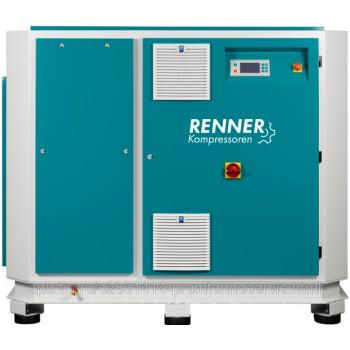 Винтовой безмасляный компрессор RENNER RSWF 45 D