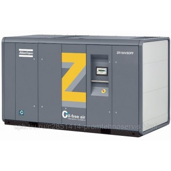 Зубчатый компрессор Atlas Copco ZT 132 VSD - 10.4 бар