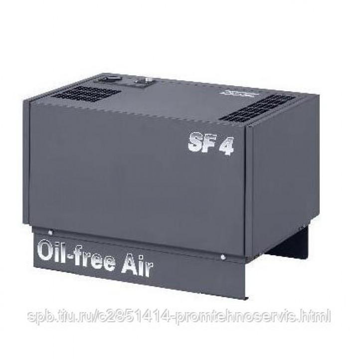 Безмасляный спиральный компрессор Atlas Copco SF 4 10P