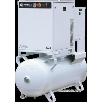 Безмасляный спиральный компрессор Remeza КС3-8(10)-270АД