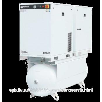 Безмасляный спиральный компрессор Remeza КС10-8-500Т