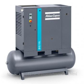 Винтовой компрессор Atlas Copco G 15L 10 FF (500)