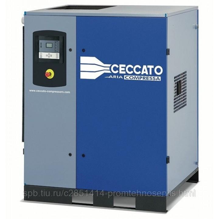 Винтовой электрический компрессор Ceccato DRB 35/10 D CE 400 50 с осушителем