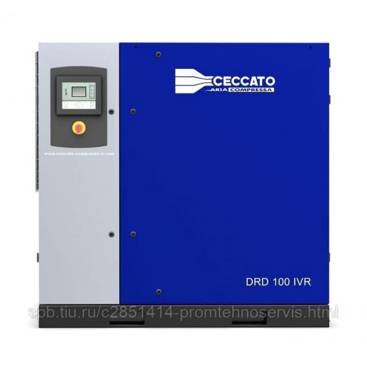 Винтовой электрический компрессор Ceccato DRD 100 IVR H