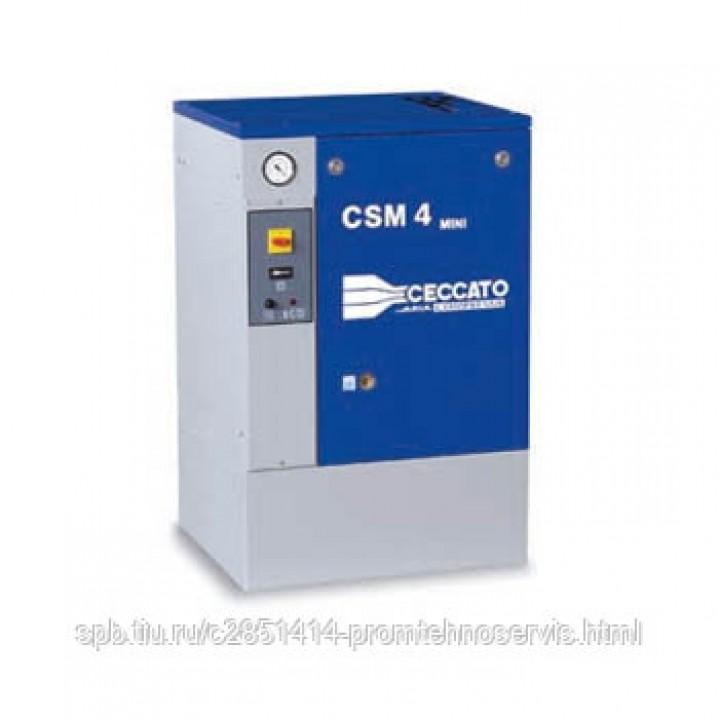 Винтовой электрический компрессор Ceccato CSM 4B MINI 8 бар