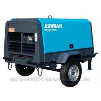 Винтовой компрессор Airman PDS185S-W дизель