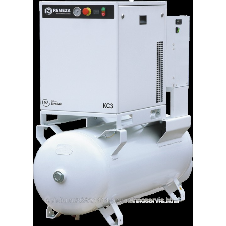 Безмасляный спиральный компрессор Remeza КС5-8(10)-270
