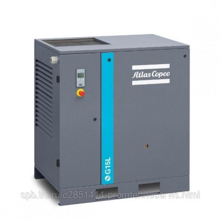 Винтовой компрессор Atlas Copco G 15L 10 FF