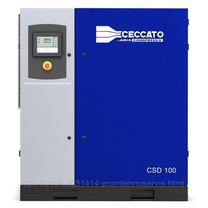 Винтовой электрический компрессор Ceccato CSD 100/10