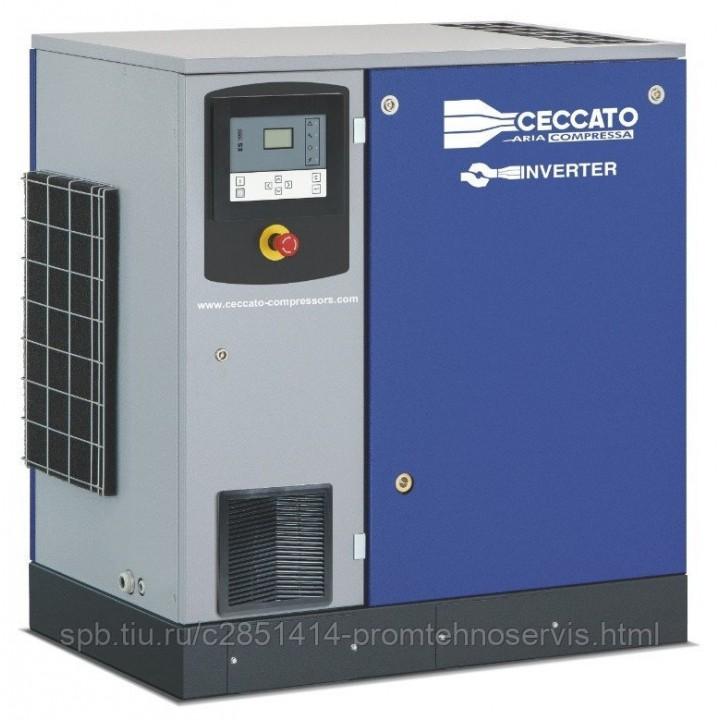 Винтовой электрический компрессор Ceccato DRA20/13 400/50 IVR на раме