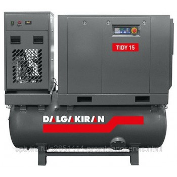 Винтовой компрессор DALGAKIRAN Tidy 15-10 500L Compact