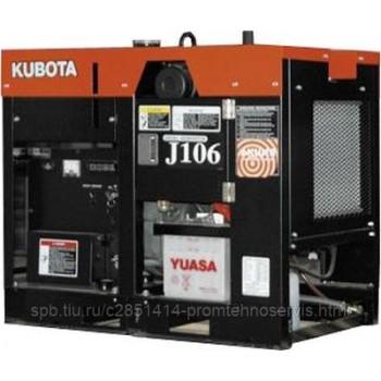 Дизельный генератор Kubota J 106 с АВР