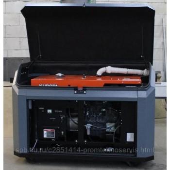 Дизельный генератор Kubota J 116 в кожухе с АВР