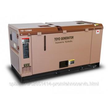 Дизельный генератор Toyo TG-12SBS с АВР