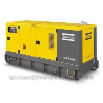 Дизельный генератор Atlas Copco QAS 100 с АВР