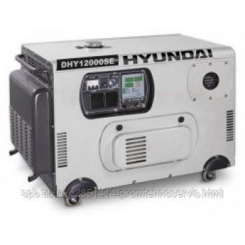 Дизельный генератор Hyundai DHY 12000SE с АВР
