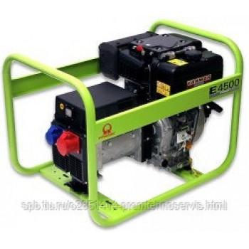 Дизельный генератор Pramac E4500 3 фазы с АВР