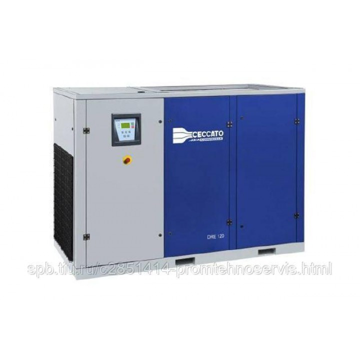 Винтовой электрический компрессор Ceccato DRE 120/7,5