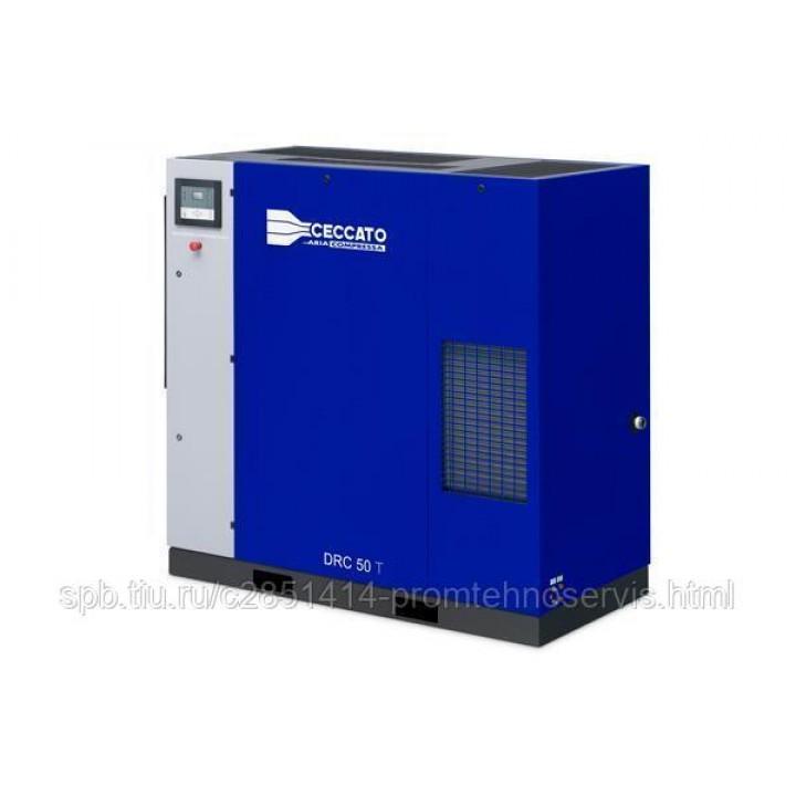 Винтовой электрический компрессор Ceccato DRC 50/10 DRY