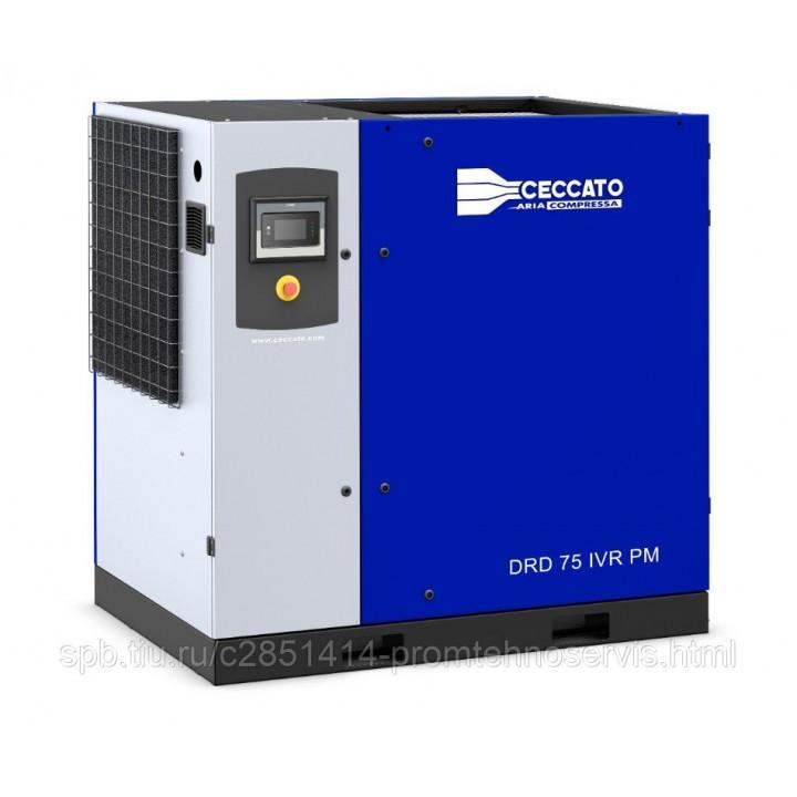 Винтовой электрический компрессор Ceccato DRD 75 IVR PM
