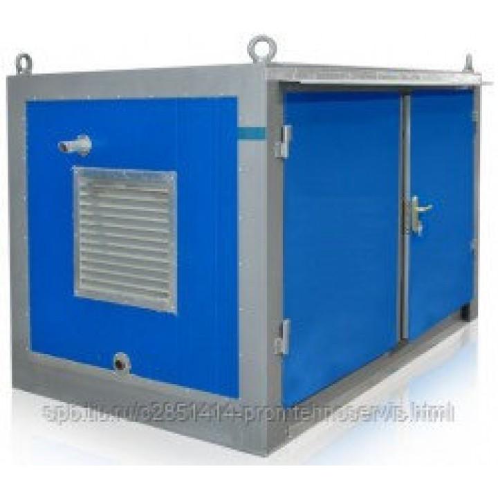 Дизельный генератор JCB G17X в контейнере с АВР
