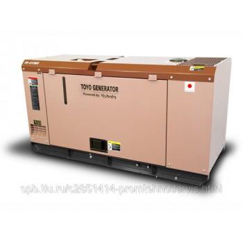 Дизельный генератор Toyo TG-21SBS с АВР