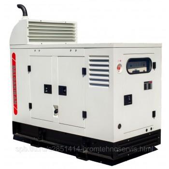 Дизельный генератор Hertz HG 110 CC в кожухе с АВР