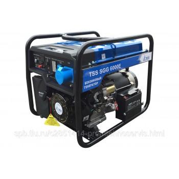 Бензиновый генератор ТСС SGG 6000E