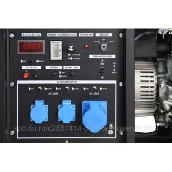 Бензиновый генератор ТСС SGG 10000EH с АВР