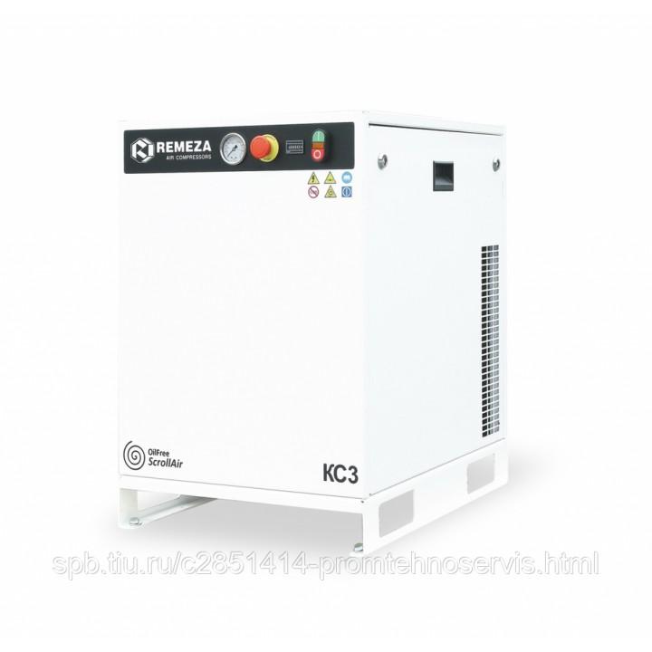 Безмасляный спиральный компрессор Remeza КС7-8(10)М