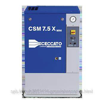 Винтовой электрический компрессор Ceccato CSM 7,5BX MINI