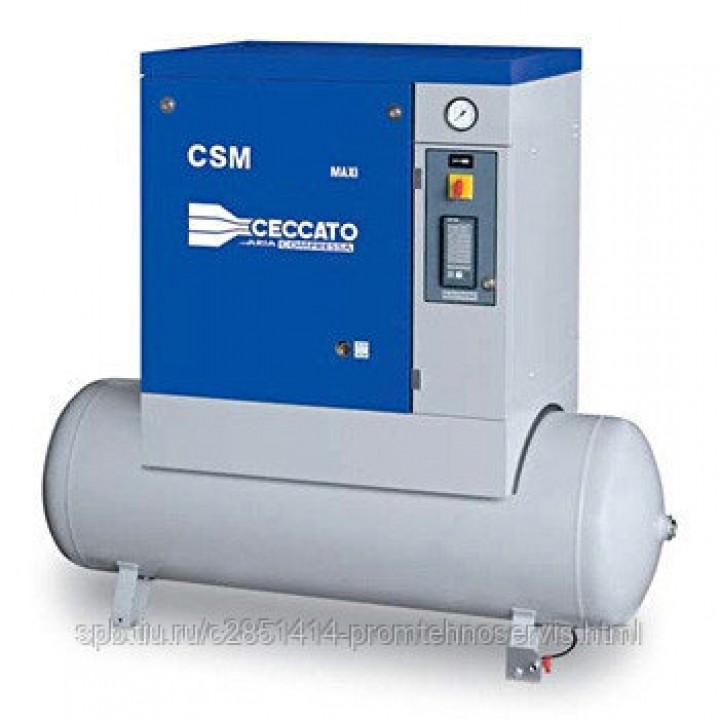 Винтовой электрический компрессор Ceccato CSM 7,5/10 X-500