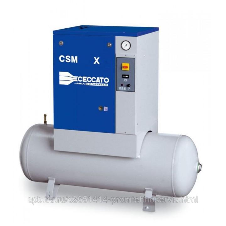 Винтовой электрический компрессор Ceccato CSM 10/10 X 270L