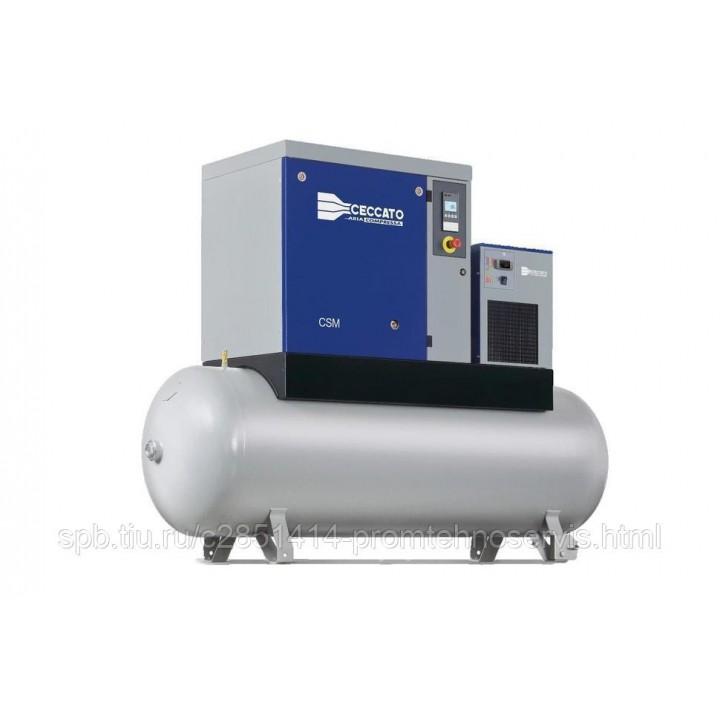 Винтовой электрический компрессор Ceccato CSM 7,5/10 DX-500L