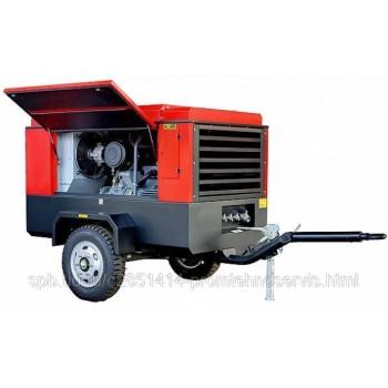 Передвижной компрессор Chicago Pneumatic CPS400 E-10