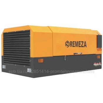 Передвижной компрессор Remeza ДК-3/7РД (на раме)