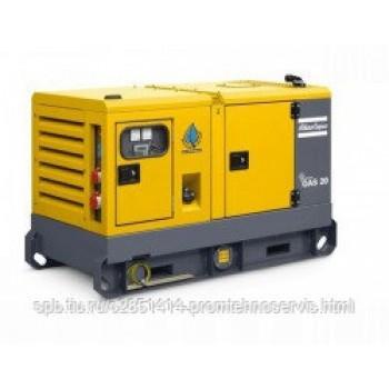 Дизельный генератор Atlas Copco QAS 20 с АВР