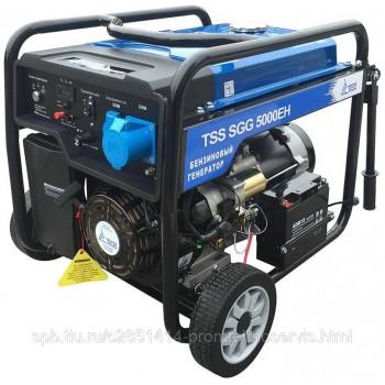 Бензиновый генератор ТСС SGG 5000 EH с АВР