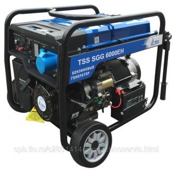 Бензиновый генератор ТСС SGG 6000EH с АВР