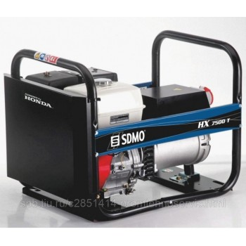 Бензиновый генератор SDMO HX 7500 T