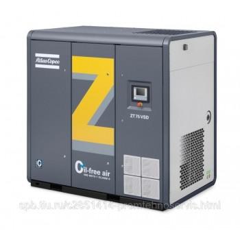 Зубчатый компрессор Atlas Copco ZR 75 VSD - 8,6 бар