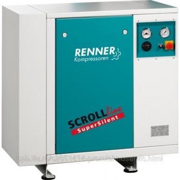 Винтовой безмасляный компрессор RENNER SL-S 3,7