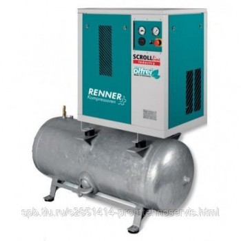 Винтовой безмасляный компрессор RENNER SLD-S 5,5 250